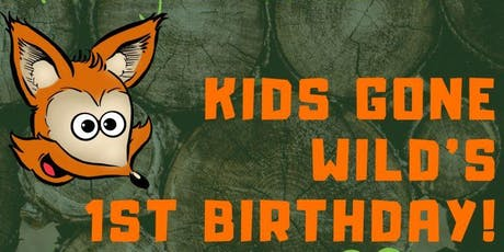 Kids Gone Wild 1st  Birthday Party tickets