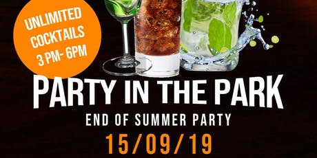 By The Bar UK presents Party in the Park tickets