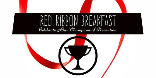 Red Ribbon Champions of Prevention Awards Breakfast
