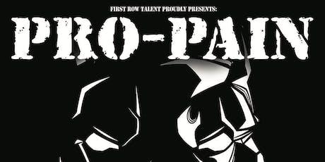 Pro-Pain tickets