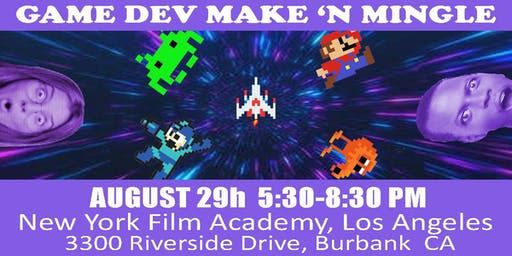 Game Dev Make n' Mingle #3