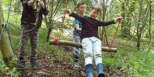 Kids Gone Wild - Little Boots: Woodland Play Gym