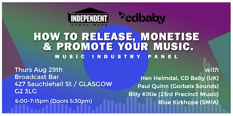 How To Release, Monetise & Promote Your Music tickets