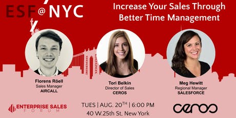 Increase Your Sales Through  Better Time Management tickets