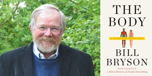 Bill Bryson at First Parish Church