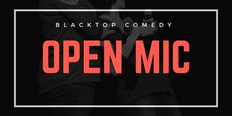 Open Mic at Blacktop tickets