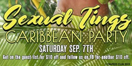 Sexual Tings Caribbean Party