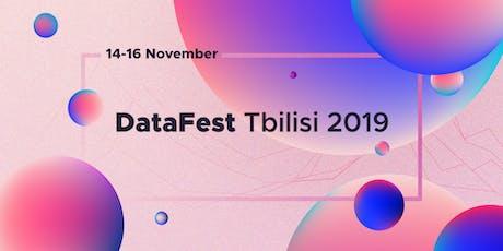 DataFest Tbilisi 2019 tickets