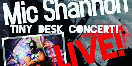 Mic Shannon's Intimate Tiny Desk Concert @ Amalgam Philly tickets
