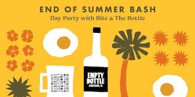 End of Summer Bash: Day Party with **** & The Bottle @ The Empty Bottle