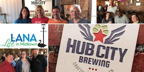 LANA Night Out - Hub City Brewing tickets