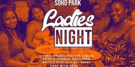 LADIES NIGHT TUESDAYS - SOHO PARK #TIMESSQUARE tickets