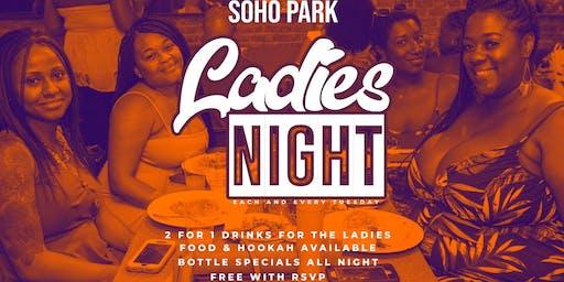 LADIES NIGHT TUESDAYS - SOHO PARK #TIMESSQUARE