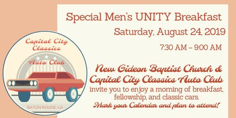 Men's UNITY Breakfast tickets
