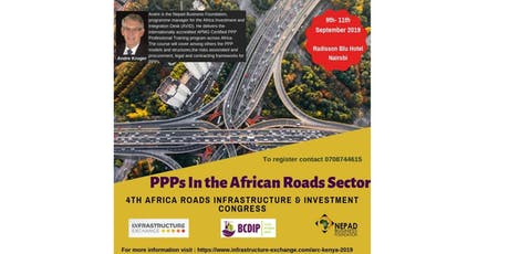 PPP course - PPPs In The African Roads Sector tickets