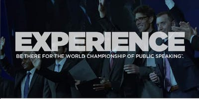 Be there for the world championship of Public Speaking