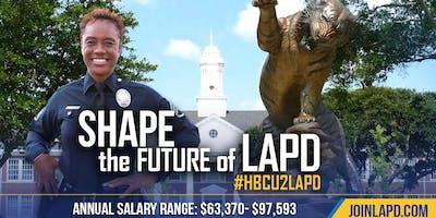 LAPD Testing at Grambling State University