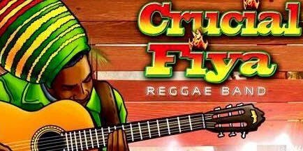 Crucial Fiya Reggae Band Live at Club Alexander's!