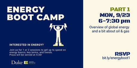 Energy Boot Camp - Part 1 tickets