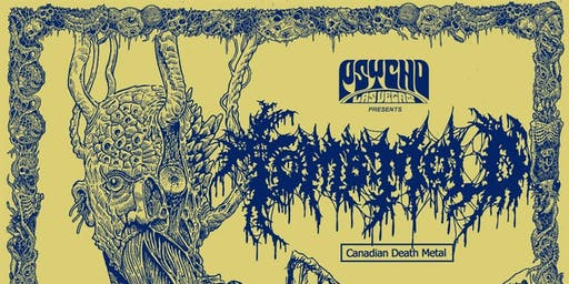 Psycho Ent presents: TOMB MOLD / MORK with special guests