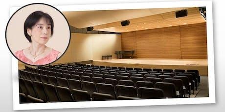 Classical Piano Concert:  Naoko Kasai returns to the Bay Area  tickets
