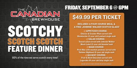 Lloydminster Scotch Feature Dinner tickets
