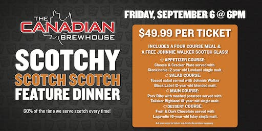 Lloydminster Scotch Feature Dinner