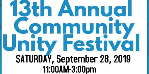 13th Annual Community Unity Festival