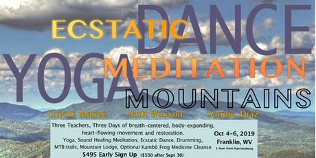 Ecstatic Dance, Yoga, Meditation, Mountains tickets