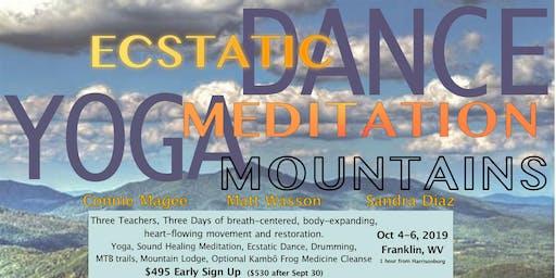 Ecstatic Dance, Yoga, Meditation, Mountains