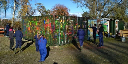 Kids Gone Wild - Wild Art Workshop w/McCarra Mural Art