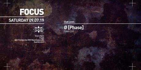 FOCUS:  Ø  [Phase] tickets