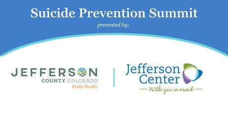 Suicide Prevention Summit tickets