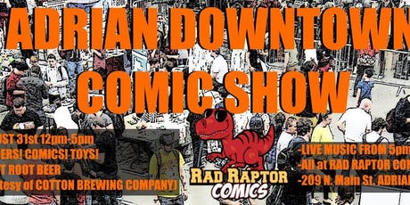 Adrian Downtown Comic Show! tickets