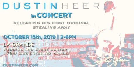 Dustin Heer 2019 Concert tickets