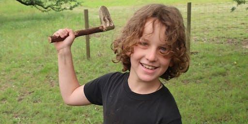 Bronze Age Axe Casting class: Chelsea, AL