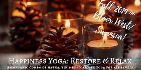 Happiness Yoga: Restore & Relax tickets