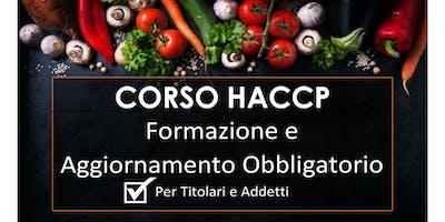 Copia di Corsi HACCP per ALIMENTARISTI Titolari e Addetti, Prima Formazione e Aggiornamento entro 5 anni