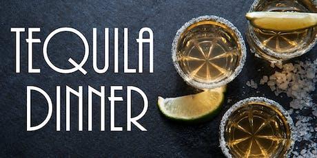 Tequila Dinner at Three V tickets