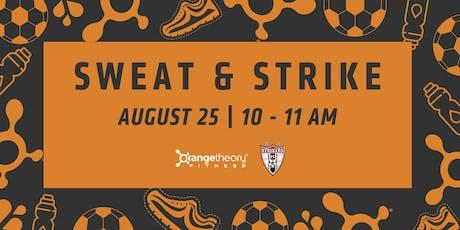 Strikers x OTF Sweat Sesh tickets