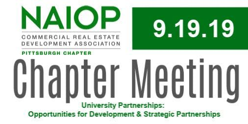 September Chapter Meeting: University Development Opportunities