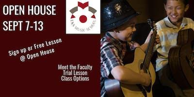 2019-2020 EKS MUSIC SCHOOL OPEN HOUSE 9/7/2019 - 9/13/2019