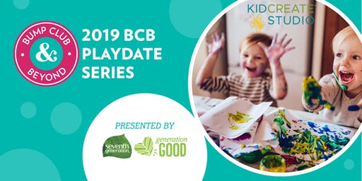 BCB Playdate with Kidcreate Studio Presented by Seventh Generation! (Savage, MN)