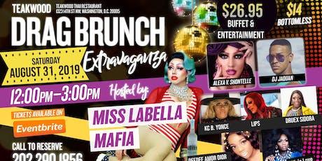 Teakwood Drag brunch Extravaganza 08/31/19 tickets