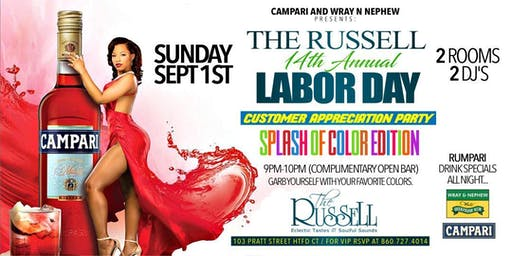 **The Russell 14th Annual - Customer Appreciation Party**