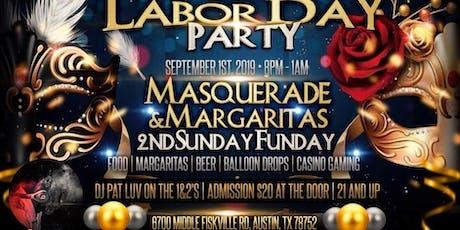 2nd Sunday Funday Masquerade & Margaritas tickets