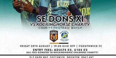 Rockinghorse FC VS SE Dons X1 tickets