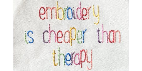 Stitch Therapy - Wed 23rd Oct @ The Village Haberdashery tickets