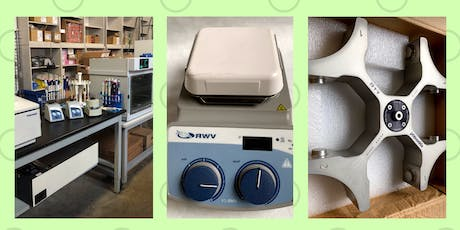 Bioreuse Grand Opening: Science Equipment  Warehouse Sale tickets