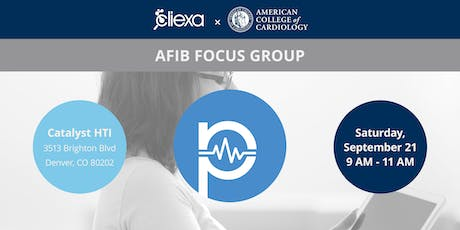 cliexa & American College of Cardiology's AFIB Focus Group tickets